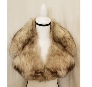 Accessories - Vintage Genuine Fox Fur Scarf